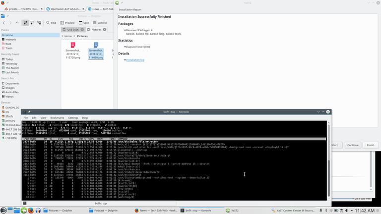 Baloo_file_extractor still running after uninstall