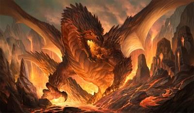Dragon by Sandara Tang