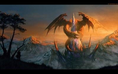 Dragon Castle by Randis